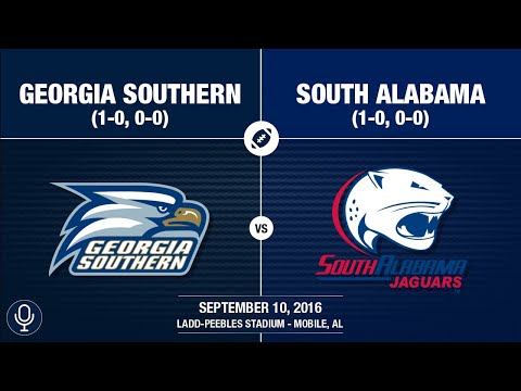 2016 Week 2 - Georgia Southern at South Alabama (GS Radio)
