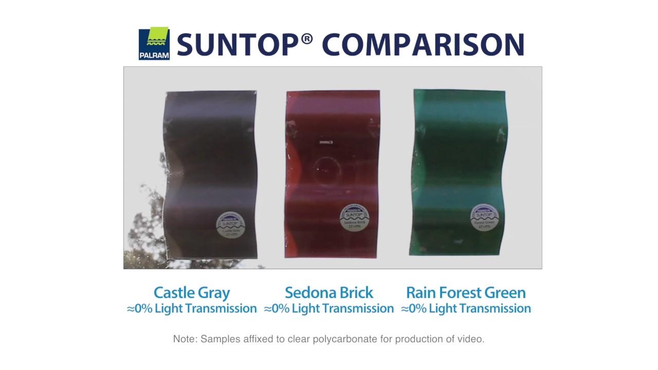 Suntop Color Comparison
