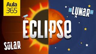 ¿Cuál es la diferencia entre un Eclipse Solar y un Eclipse Lunar? | Videos Educativos para Niños