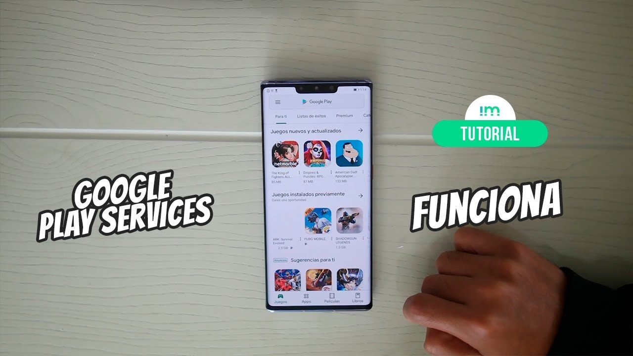 Cómo instalar Google Play Services en Huawei Mate 30 Pro | Tutorial