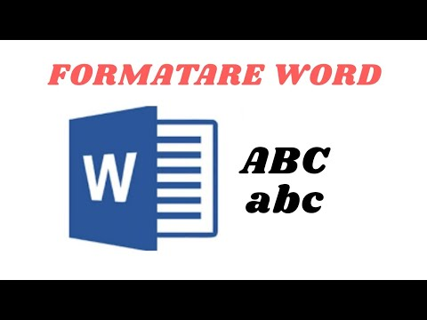 Formatare text in
