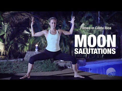 Moon Salutations Yoga Class Five Parks Yoga
