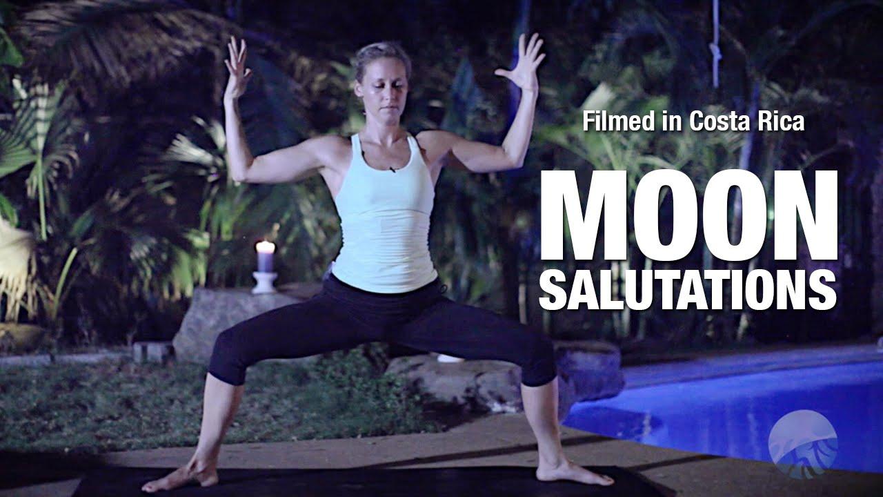 Moon Salutations Yoga Class Five Parks Yoga Youtube