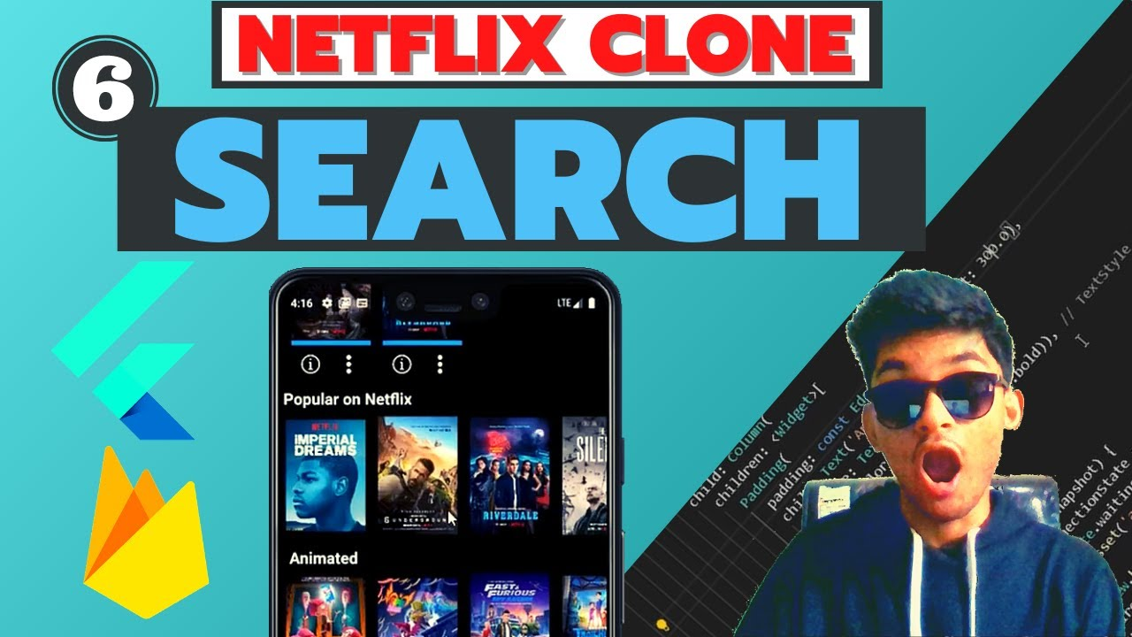 Search I Netflix Clone With Flutter