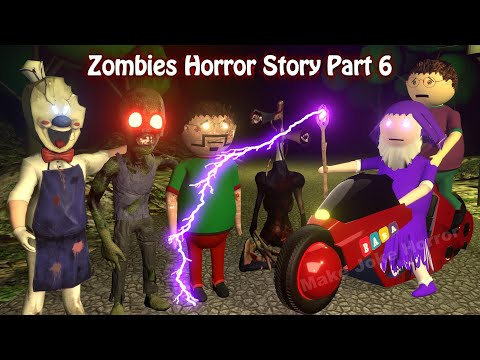 Zombies Horror Story Part 6   Siren Head   Apk Android Games   Best Animated Movies   3d Animation
