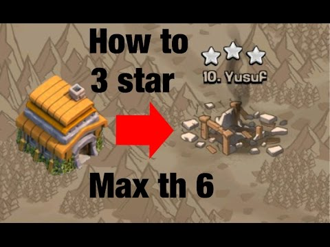 Cheap And Best War Attack Strategy TH 6 (TOWNHALL 6) | Clash of Clans |