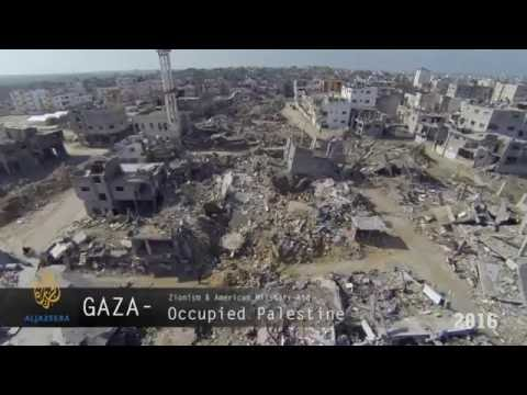 Syria Homs & Palestine Gaza - Bombing Aftermath 2014 -2016