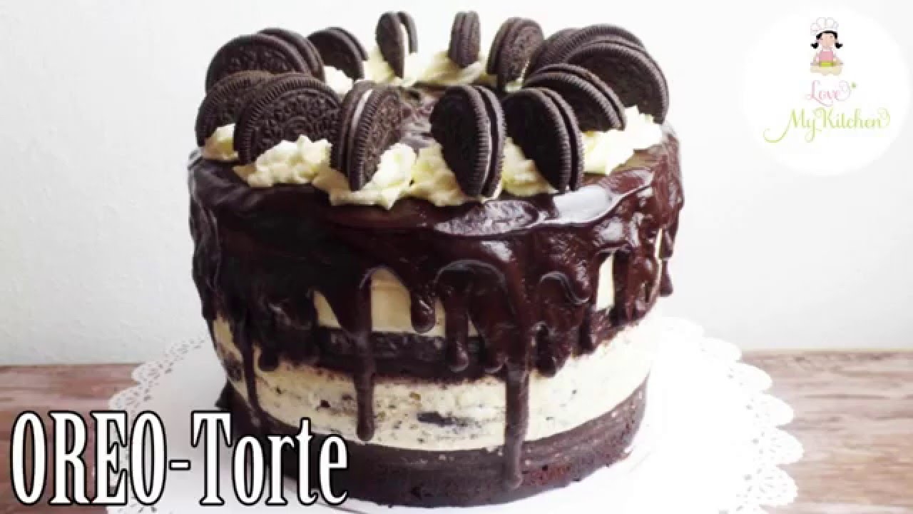 diy oero torte oreotorte oreo cake schokotorte schokoladentorte youtube. Black Bedroom Furniture Sets. Home Design Ideas