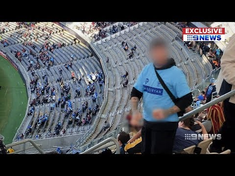 Optus Stadium Security | 9 News Perth