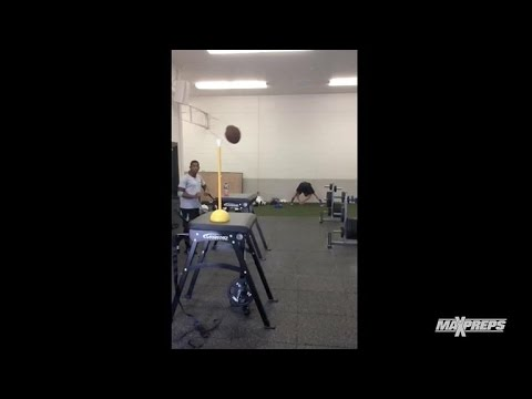 Long snapper trick snaps with Kris Morgenweck