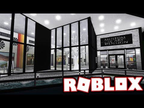 MUSEUM OF MODERN ART & DESIGN!!! | Subscriber Tours (Roblox Bloxburg)