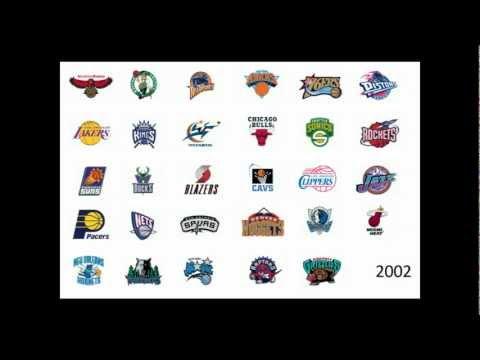 NBA Logos through the years (1949-2012)