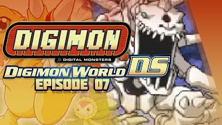Digimon World DS - Ep 7 - Chrome Mine,SkullGreymon Boss & Silver Tamer!