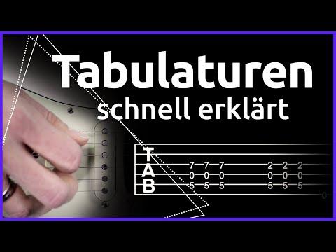 Tabs Lesen Lernen   Gitarre Lernen Mit Music2me