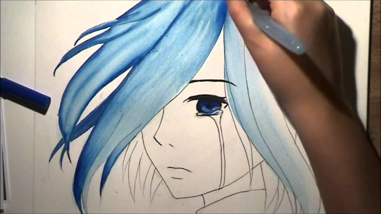 Tokyo Ghoul: Touka Kirishima Drawing