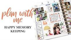 PLAN WITH ME: Happy Memory Keeping | Week of June 24, 2019