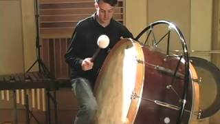 Concert Bass Drum 3: Playing Techniques / Vic Firth Percussion 101