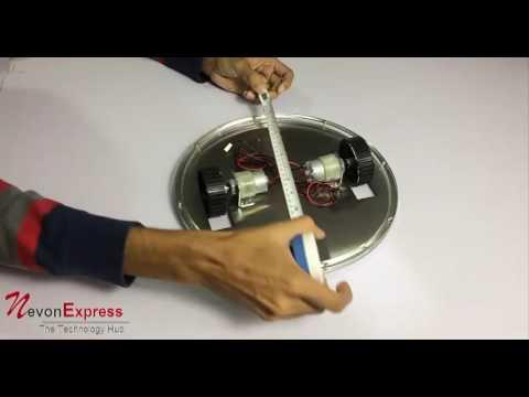 Flying Saucer UFO Robotic Kit Diy