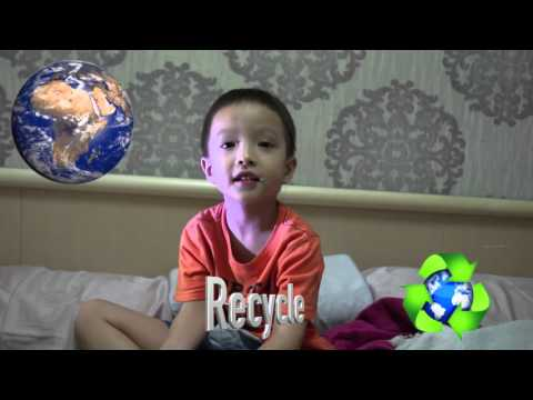 Earth Day song (reduce, reuse, recycle)