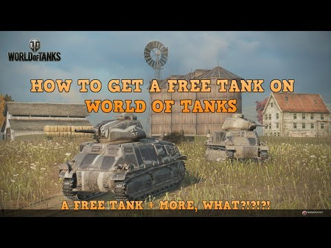 HOW TO GET A FREE PREMIUM TANK ON WORLD OF TANKS CONSOLE!!!