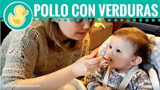 Papillas Para Bebés Pollito Con Verduras 8 Meses En Adelante Youtube