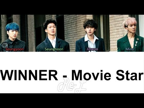 Free Download Winner - Movie Star (color Coded Lyrics English/rom/han) Mp3 dan Mp4