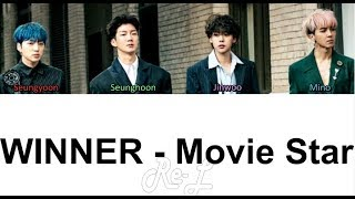 WINNER - Movie Star (Color Coded Lyrics ENGLISH/ROM/HAN)