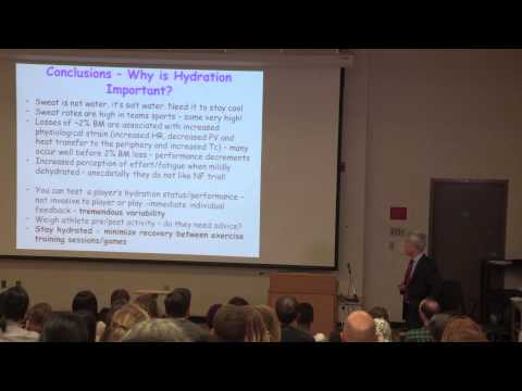 University of Toronto Edna Park Lecture 2015 - Dr. Lawrence Spriet: Sports Nutrition Today