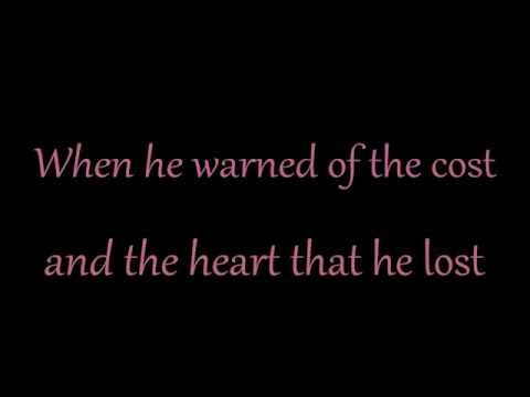 NBC Smash - Never Give All The Heart (lyrics on screen)