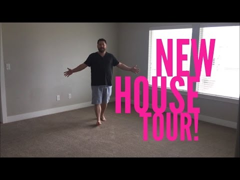 A TOUR OF OUR NEW HOUSE!