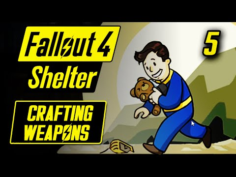 Fallout Shelter PC - CRAFTING WEAPONS - Fallout Shelter PC Gameplay - Vault 88 #5