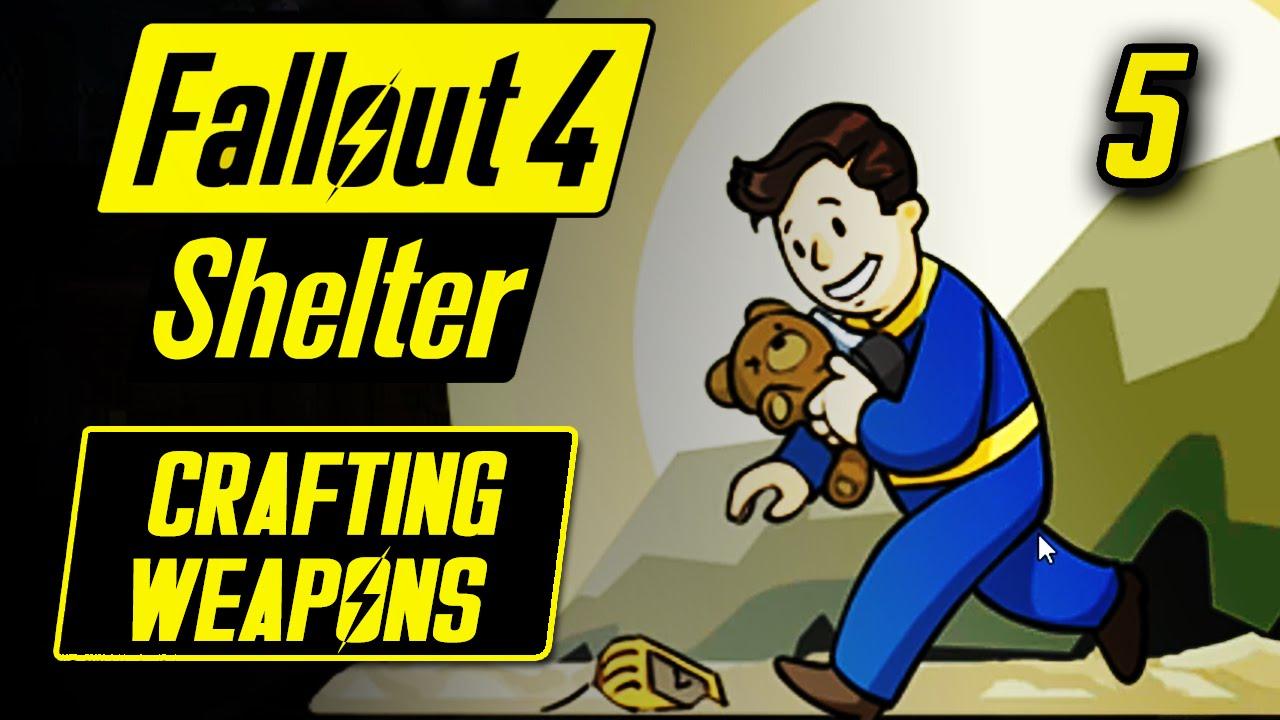 how to get weapons fallout shelter