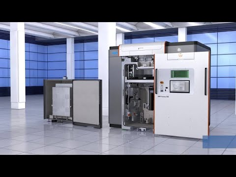 Meet the Metal Additive Factory with 3D Systems and GF Machining Solutions