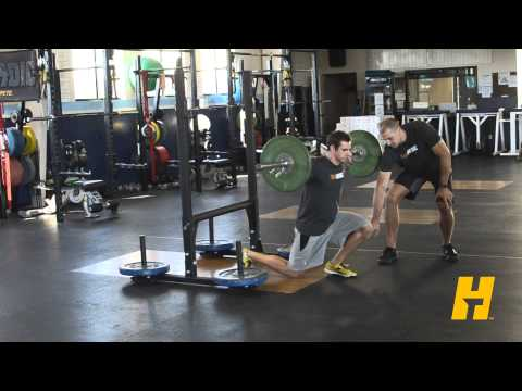 Barbell Lunge - Instructional