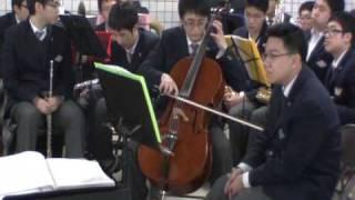 [경기고 오케스트라] 지하철 청담역 연주회 (2) 바흐의 무반주 첼로