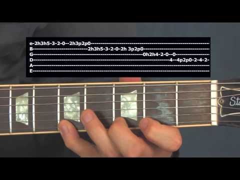 Here is a lesson featuring some Mixolydian scale concepts inspired by Frank Zappa