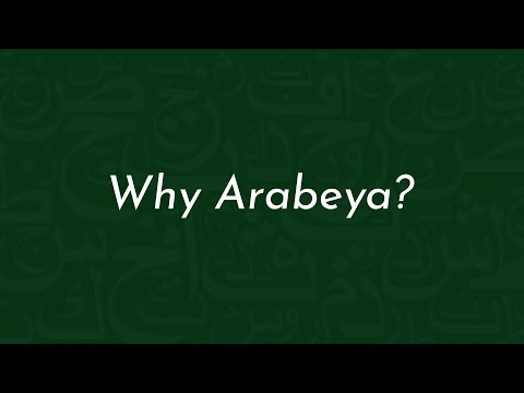 Arabeya-ians' Learning Arabic Experiences in Egypt