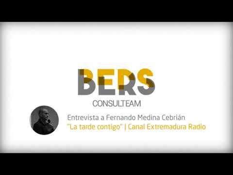 Entrevista a Fernando Medina en Canal Extremadura Radio.