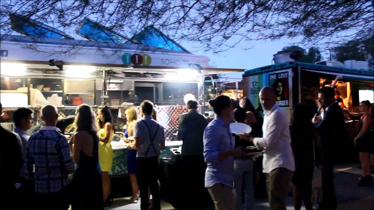 Taco Truck Catering In Palm Springs At The Ace Hotel Youtube