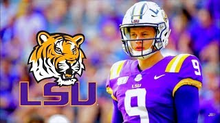 Heisman Front-Runner || LSU QB Joe Burrow 2019 Midseason Highlights ᴴᴰ