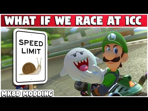 What If We Race at 1 CC?!?!   Mario Kart 8 Deluxe Modding