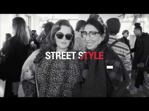 Street Style with the SPECTACULAR Tess Holliday | NYFW 2019