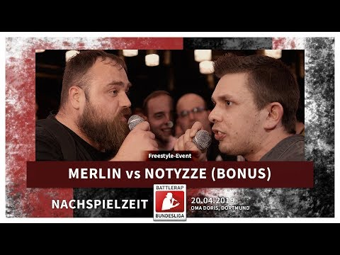 BRB 2019 | Nachspielzeit - Merlin vs Notyzze (Freestyle Bonus Duell) on YouTube