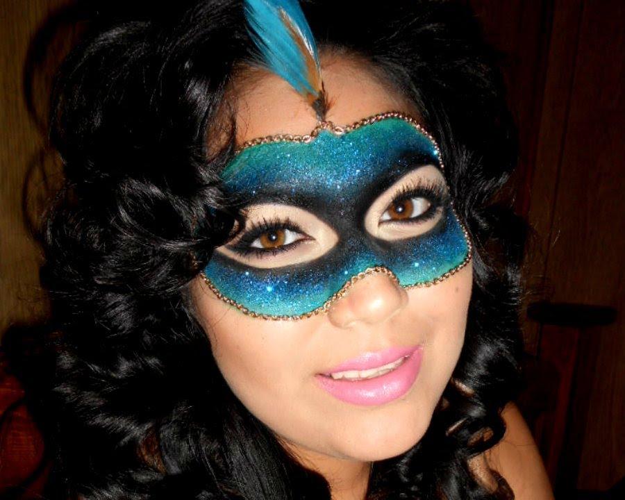 Masquerade Glitter Mask Tutorial Last