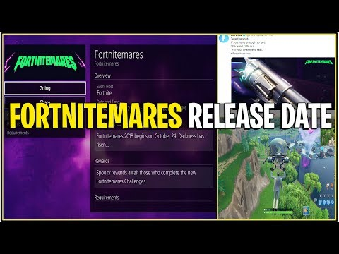 *NEW* FORTNITEMARES OFFICIAL RELEASE DATE LEAKED! *Revolver