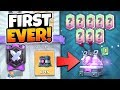 FIRST EVER LEGENDARY LEAGUE WAR CHEST OPENING! | Clash Royale 8 LEGENDARIES IN-A-ROW FROM WAR CHESTS