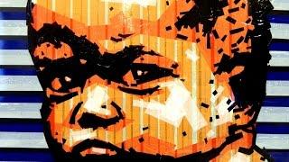 TAPE ART speed scotch tape painting (street-art video Lesson)(artist Nikolay Vasilyev - speed art sticking (duct tape-art) художник- Николай Васильев, видео- Алина Путятична,