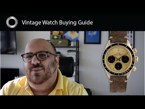 How To Buy Vintage Watches - Federico Talks Watches