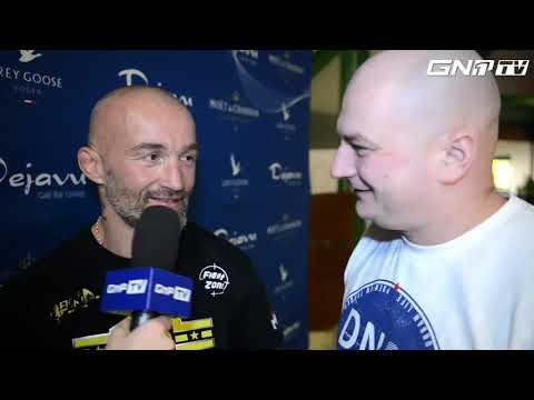 Andor Filo - Cage Fight Series 8 - Post Fight Interview