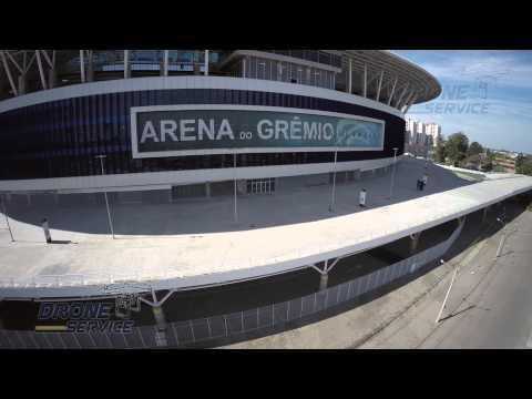 Filmagens com Drone: Arena do Grêmio